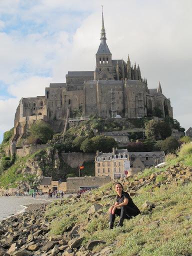 Mont Saint Michel, praias da Normandia e região de Champagne