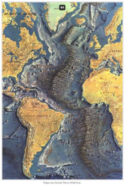 cordilheira meso atlantica