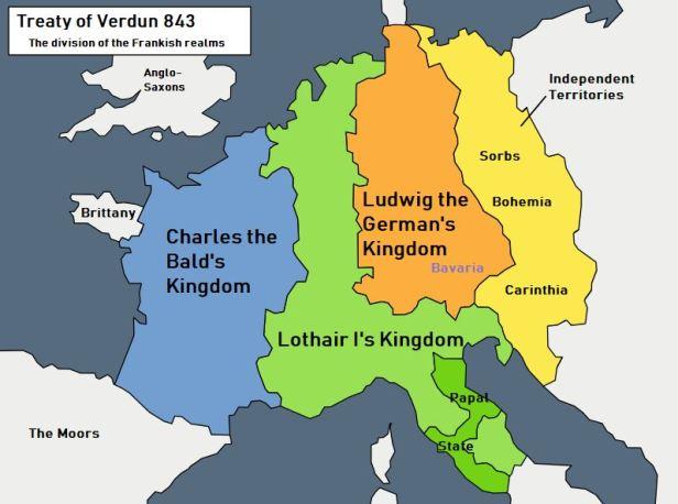 Tratado de Verdun 843