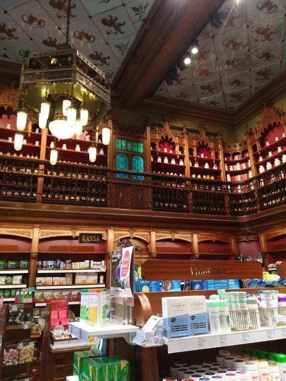 Farmacia Antiga Suecia Lejonet