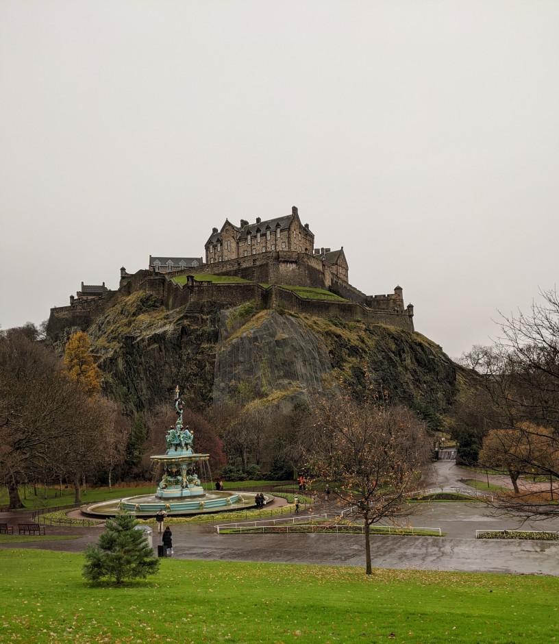 castelo edimburgo, escocia