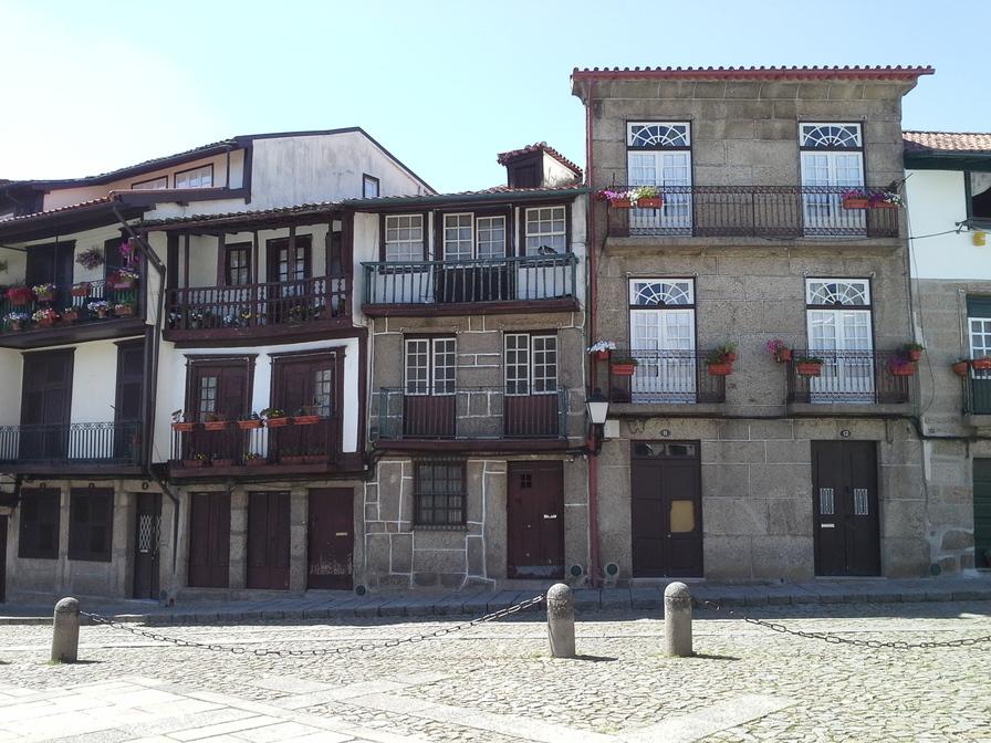 Guimarães, onde aconteceu a Batalha de São Mamede