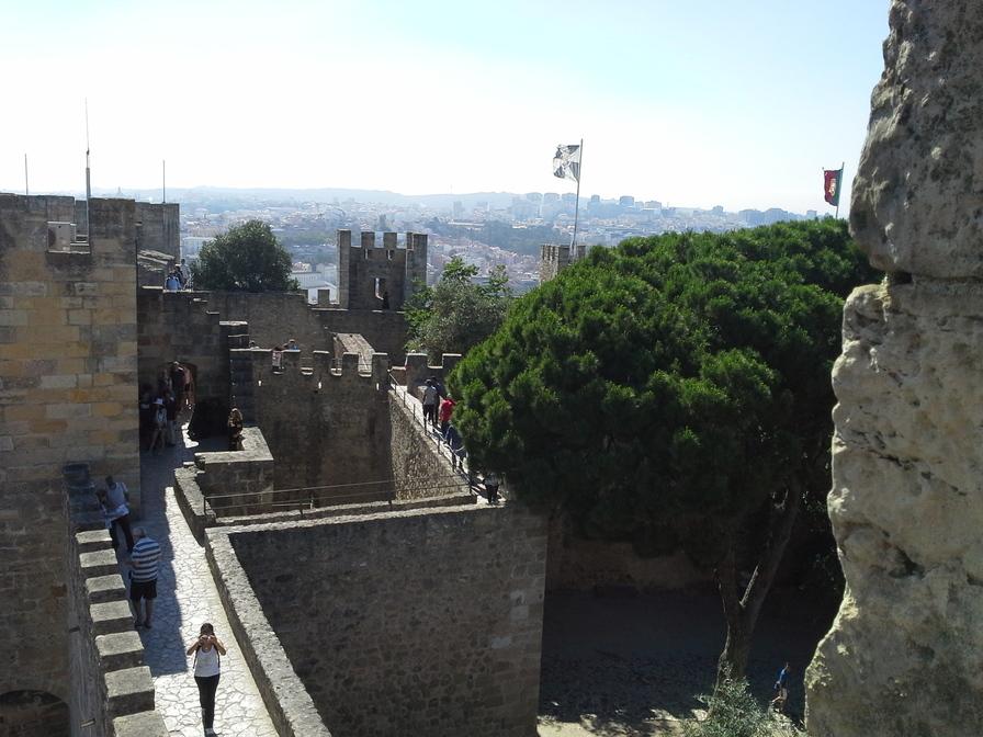 Castelo de São Jorge, em Lisboa