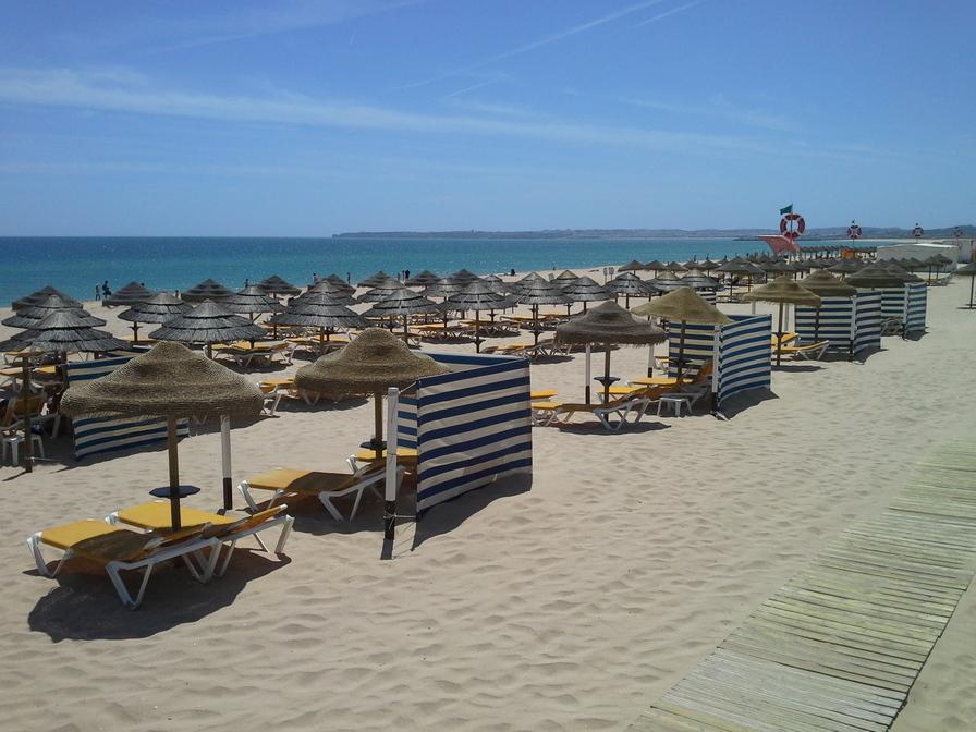 Alvor, uma das praias do Algarve