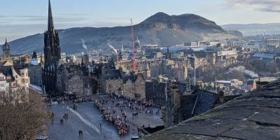 Edinburgh Scotland Arthur's Seat
